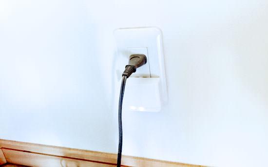 wifi中継器をコンセントに指しても邪魔にならない