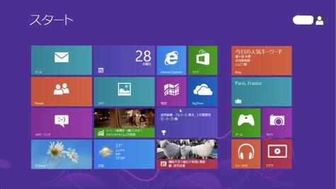Windows8のフルスクリーンモード