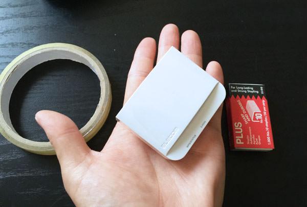 無線LAN中継器のサイズ